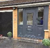 upvc Door Painting after 4