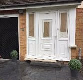 upvc Door Painting before 2